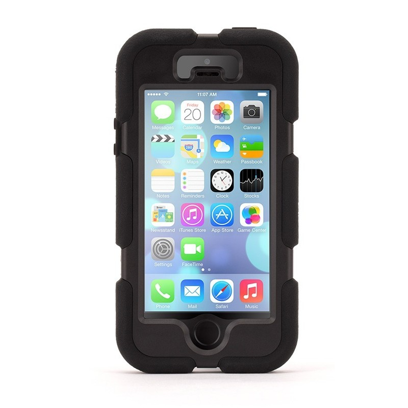 Griffin Survivor iPhone 5 Black met TouchID - 1