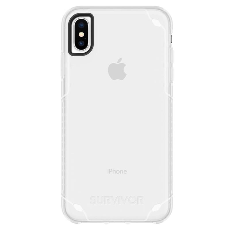 Griffin Survivor Strong iPhone XS Max Case Transparant 01