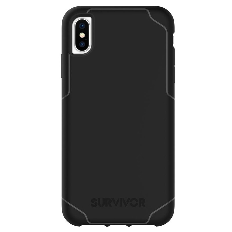 Griffin Survivor Strong iPhone XS Max Case Zwart 01