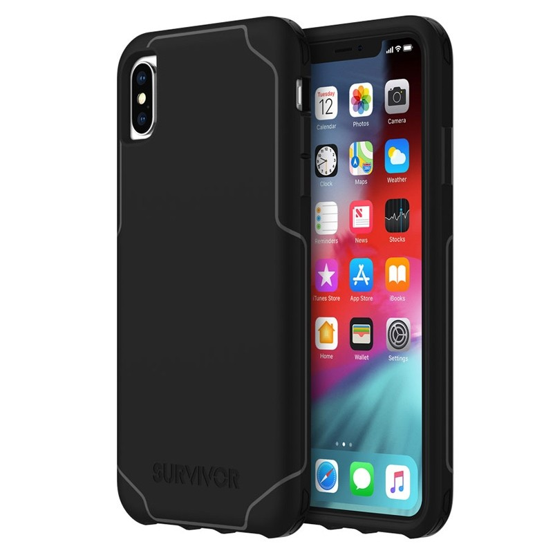 Griffin Survivor Strong iPhone XS Max Case Zwart 04