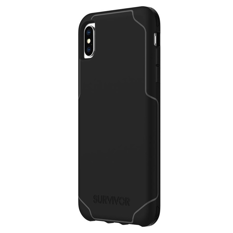Griffin Survivor Strong iPhone XS Max Case Zwart 03
