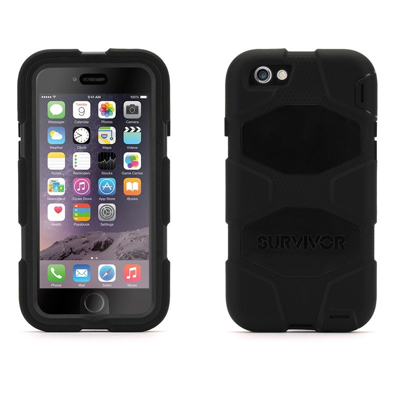Griffin Survivor Extreme Duty Case iPhone 7 / 8 Black - 3