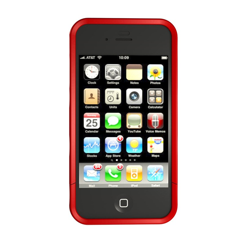Hard Candy Bubble Slider iPhone 4 White - 2