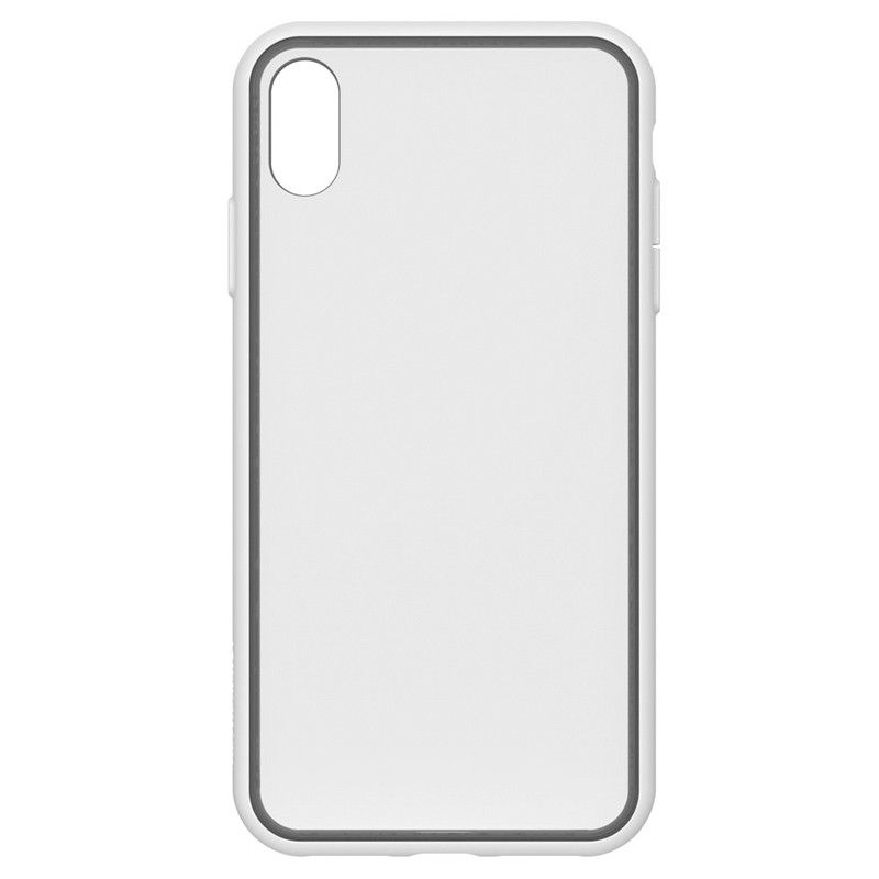 Incase Pop Case II iPhone XS Max Hoesje Wit / Transparant 01