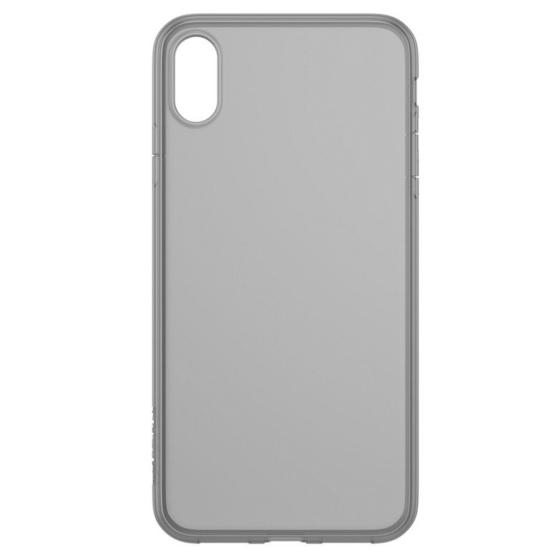 Incase - Protective Clear Cover iPhone XS Max Zwart / Transparant 01