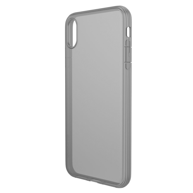 Incase - Protective Clear Cover iPhone XS Max Zwart / Transparant 02