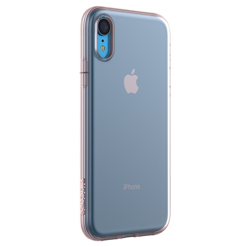 Incase Protective Clear Cover iPhone XR Clear Roze 04