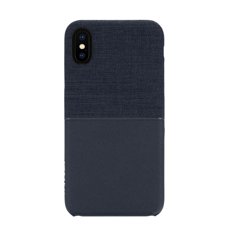Incase Textured Snap Case iPhone X/Xs Blauw - 1