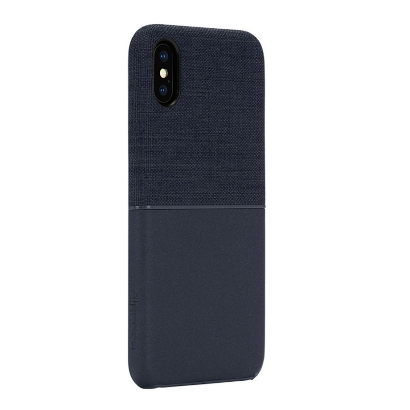 Incase Textured Snap Case iPhone X/Xs Blauw - 3
