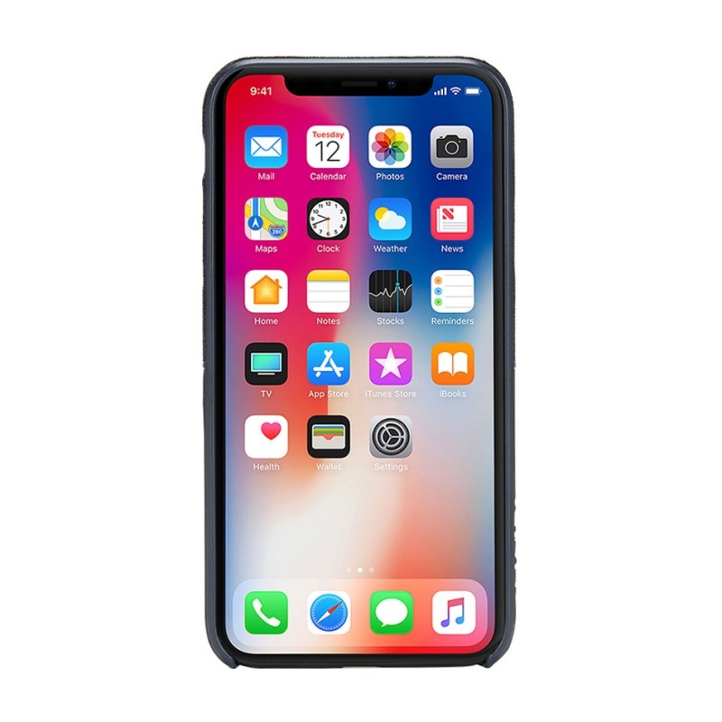 Incase Textured Snap Case iPhone X/Xs Blauw - 4