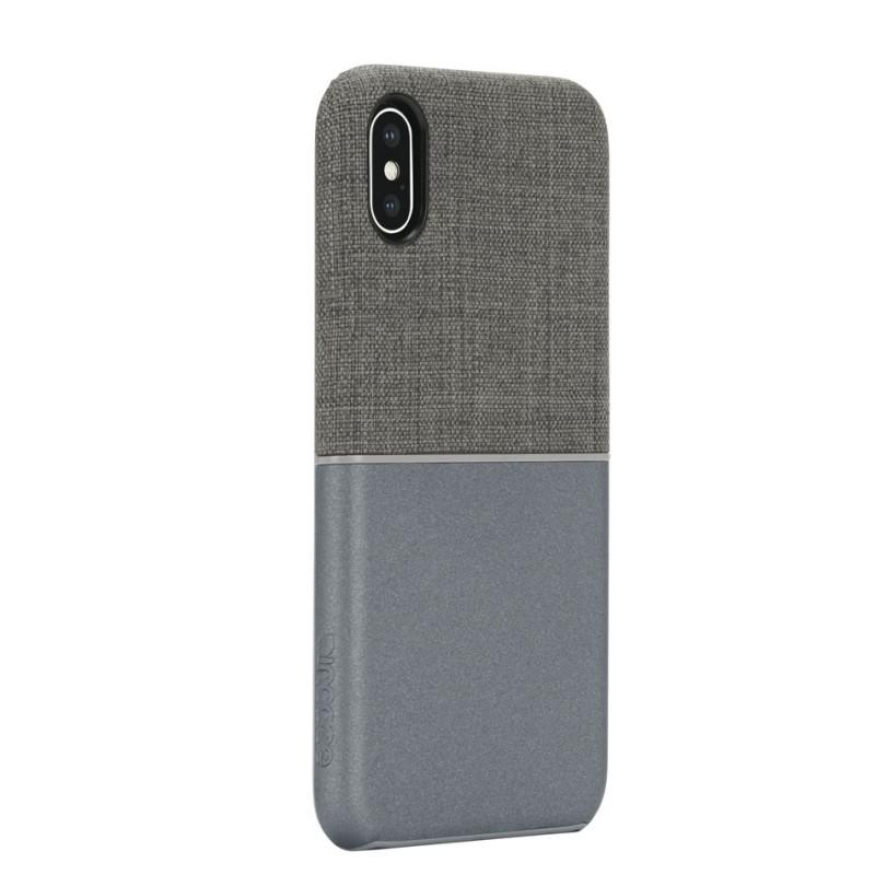 Incase Textured Snap Case iPhone X/Xs Grijs - 2