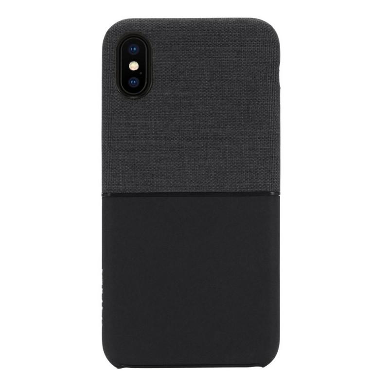 Incase Textured Snap Case iPhone X/Xs Zwart - 1