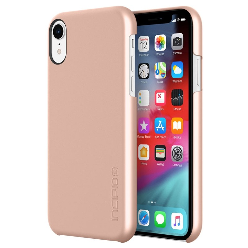 Incipio Feather iPhone XR Hoesje Roze Goud 01