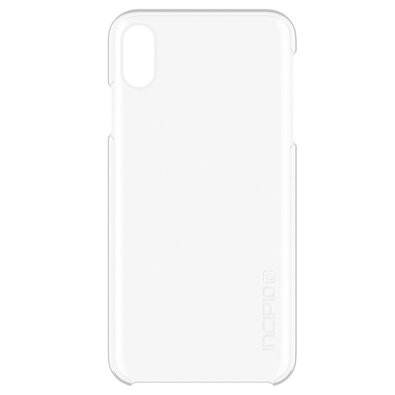 Incipio Feather iPhone XS Max Hoesje Transparant 01