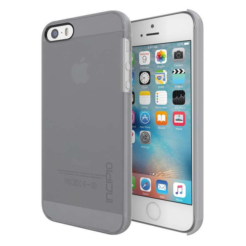 Incipio Feather Pure iPhone SE / 5S / 5 Gray - 1