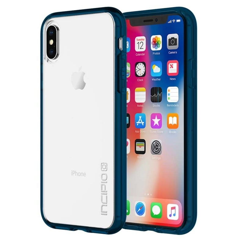 Incipio octane Pure iPhone X/Xs Navy/Clear - 1