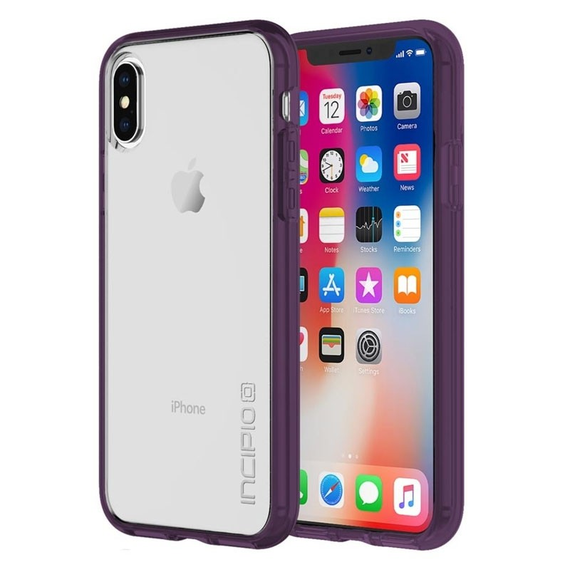 Incipio octane Pure iPhone X/Xs Plum/Clear - 1