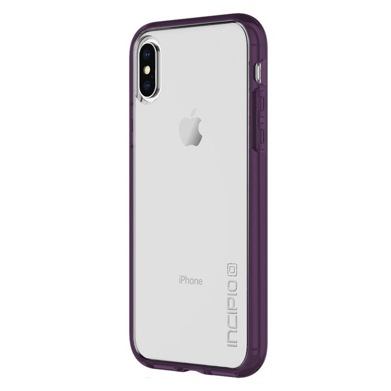 Incipio octane Pure iPhone X/Xs Plum/Clear - 2