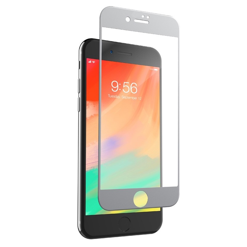 Invisible Shield Glass Edge-to-edge Screenprotector iPhone SE (2020)/8/7 White - 1