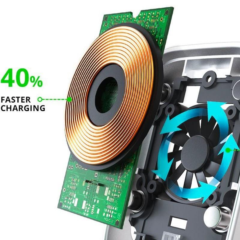 iOttie iTap Magnetic Qi Wireless Autolader - 5