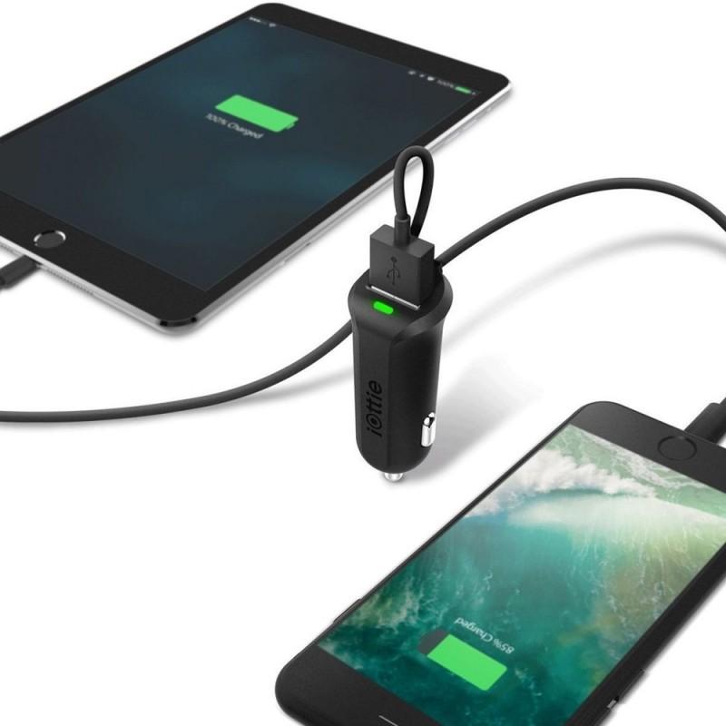 iOttie RapidVOLT Mini USB Autolader met Lightning Kabel - 3