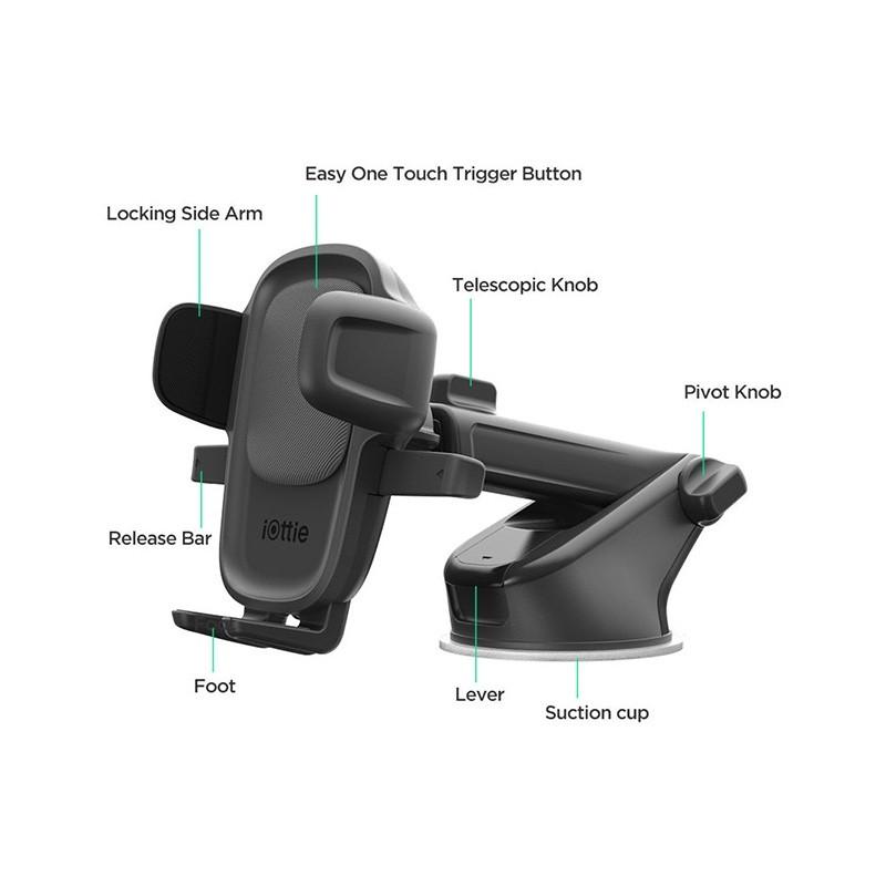 iOttie Easy One Touch 5 Autohouder met Zuignap 012