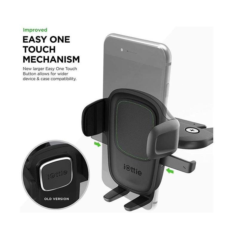 iOttie Easy One Touch 5 CD-Slot Mount 04