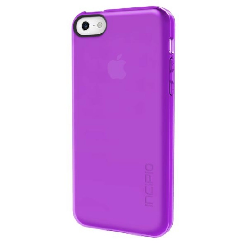 Incipio Feather Clear iPhone 5C Purple