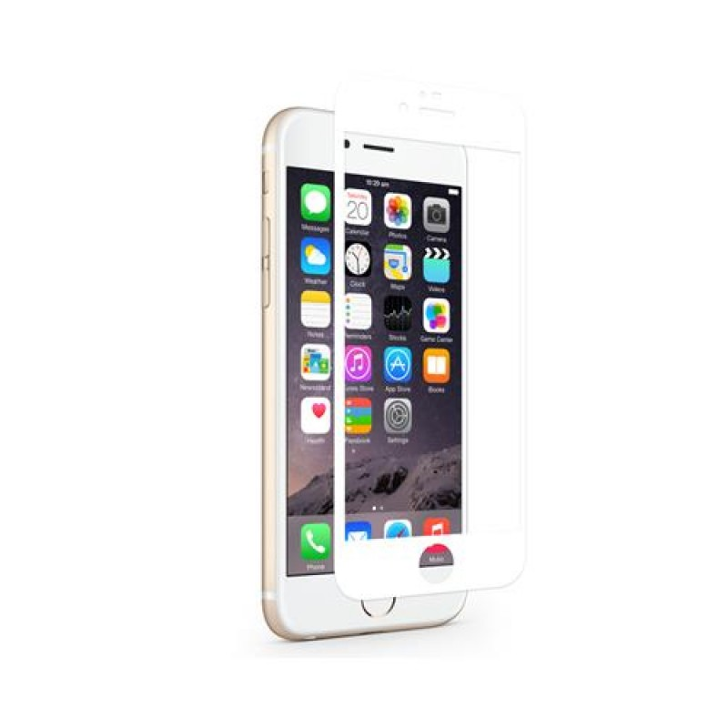 Moshi iVisor AG iPhone 8/7/6s/6 White - 2