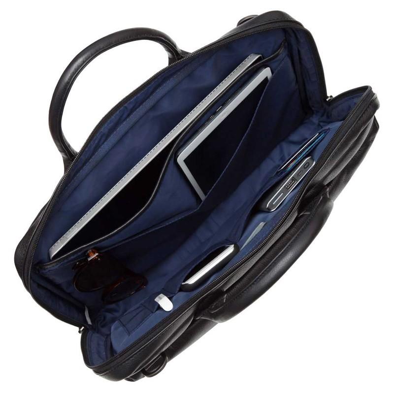 Knomo - Barbican Foster 14 inch Laptoptas Black 06