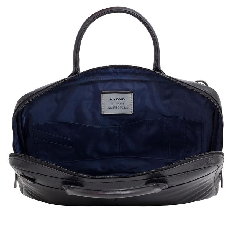 Knomo - Barbican Foster 14 inch Laptoptas Black 05