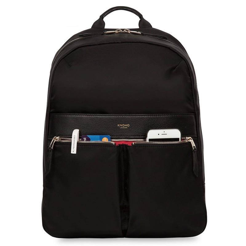 Knomo - Beauchamp 14 inch Laptop Rugzak Black 02