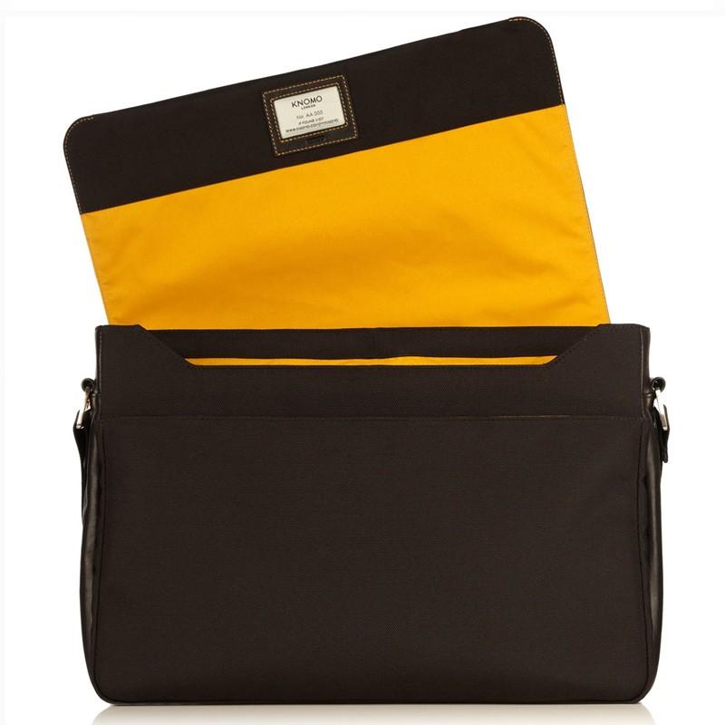 Knomo - Bungo 15,6 inch Laptop Messenger Black 05