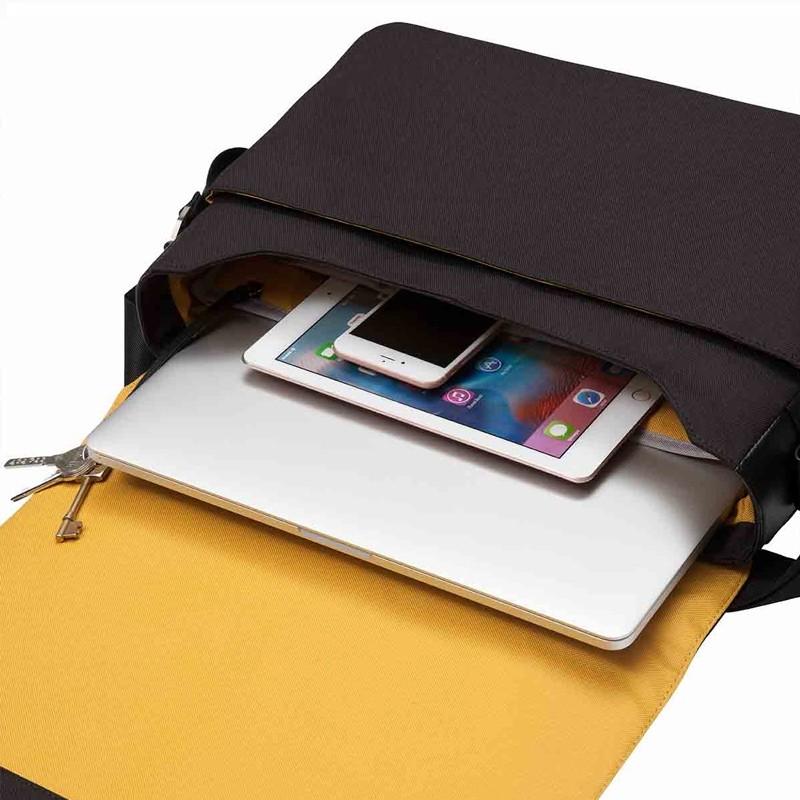 Knomo - Bungo 15,6 inch Laptop Messenger Black 04