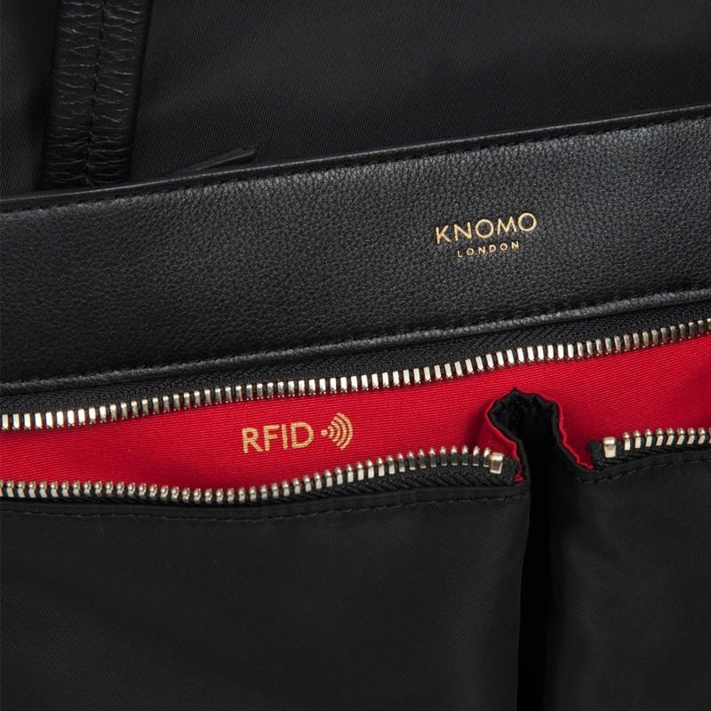 Knomo - Curzon 15 inch Laptop Schoudertas Black 07