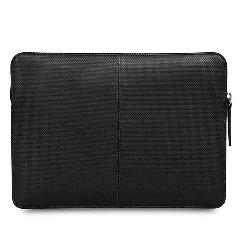 Knomo - Embossed Laptop Sleeve 12 inch Black 05