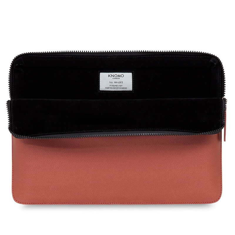 Knomo - Embossed Laptop Sleeve 12 inch Copper 04
