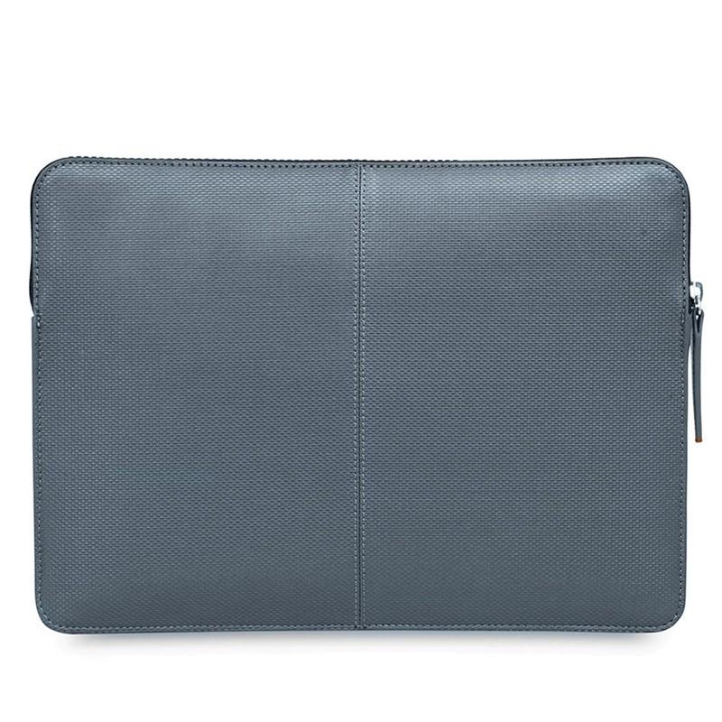 Knomo - Embossed Laptop Sleeve 12 inch Silver 05