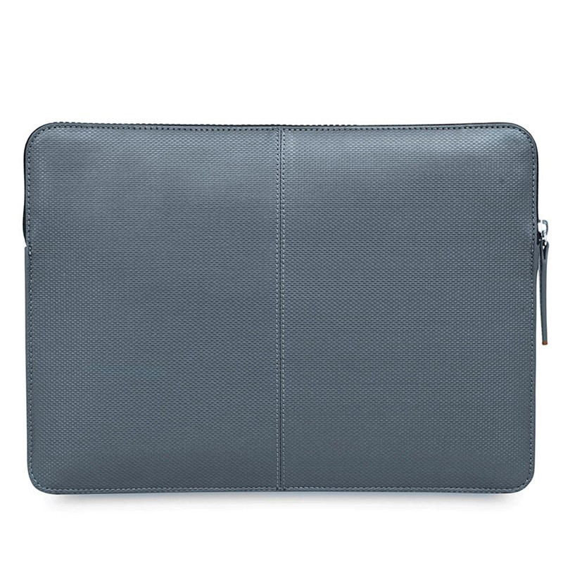 Knomo - Embossed Laptop Sleeve 13 inch Silver 05