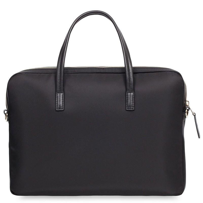 Knomo - Hanover 14 inch Slim Laptop Briefcase Black 05