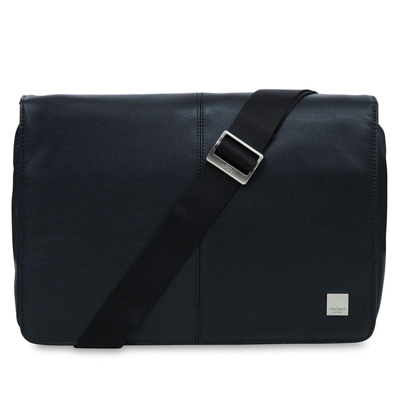 Knomo - Kinsale 13 inch Laptop Messenger Black 01