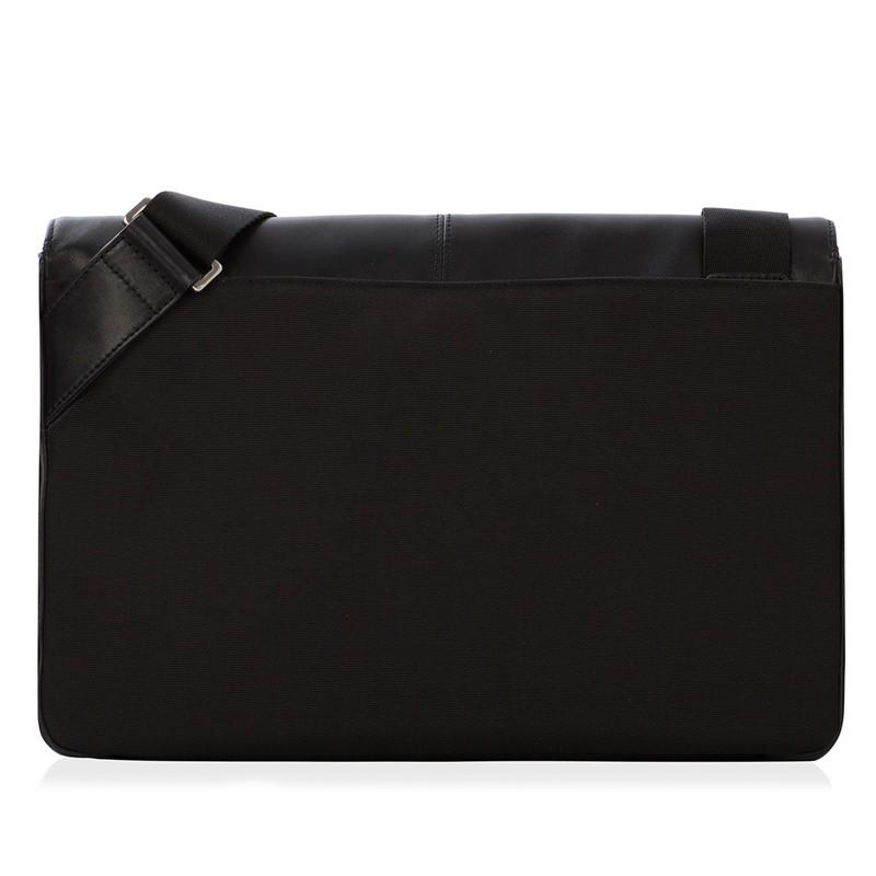 Knomo - Kinsale 13 inch Laptop Messenger Black 06