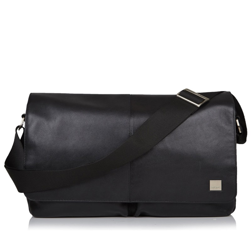 Knomo - Kobe 15 inch Laptop Messenger Black 02