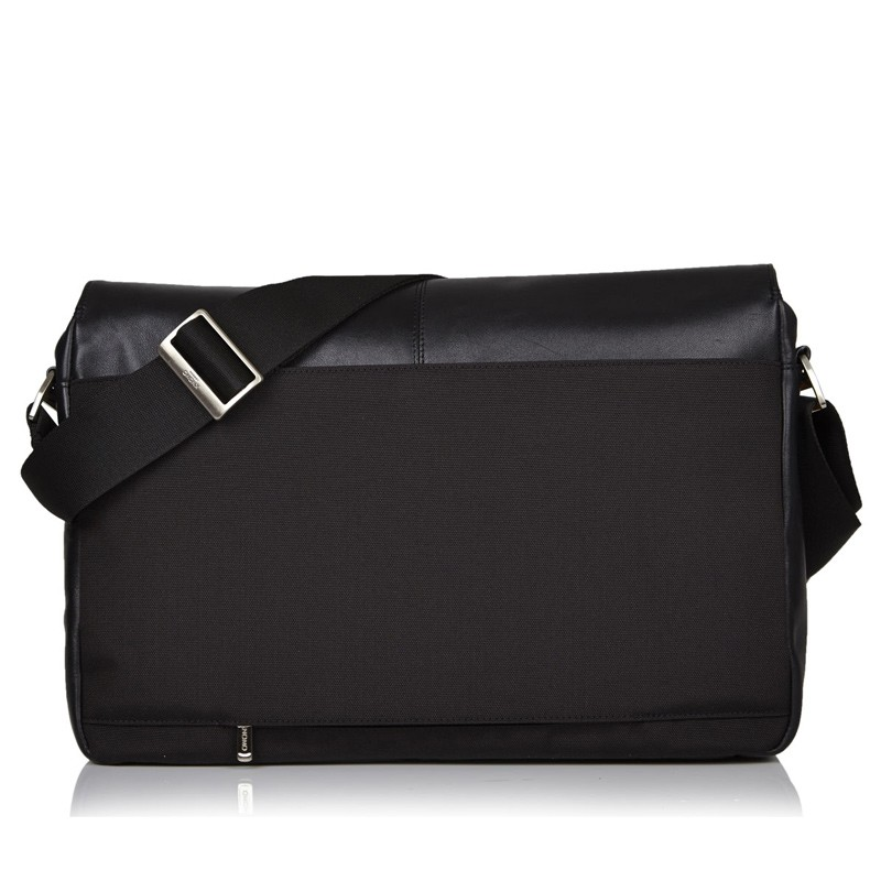 Knomo - Kobe 15 inch Laptop Messenger Black 04
