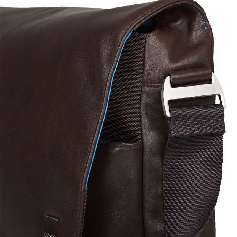 Knomo - Kobe 15 inch Laptop Messenger Brown 06