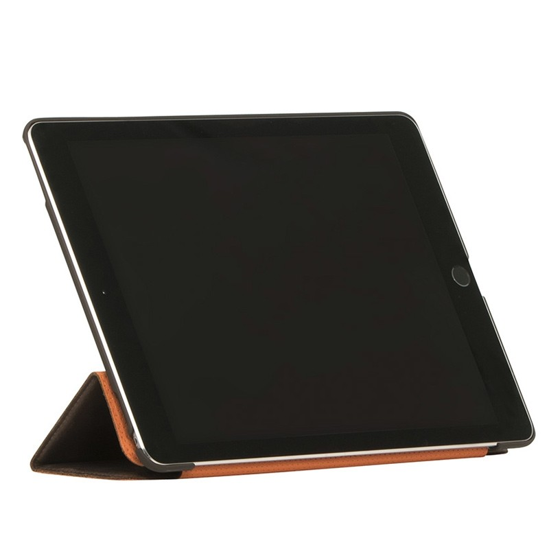 Knomo - Leather Folio iPad Pro 9,7 inch Brown 03