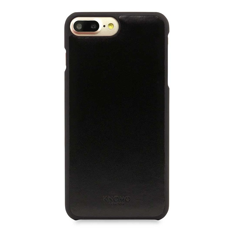 Knomo Leather Snap On Hoes iPhone 7 Plus Black 02