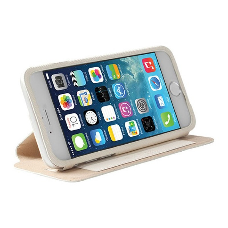 Krusell Malmö iPhone 6 White - 1