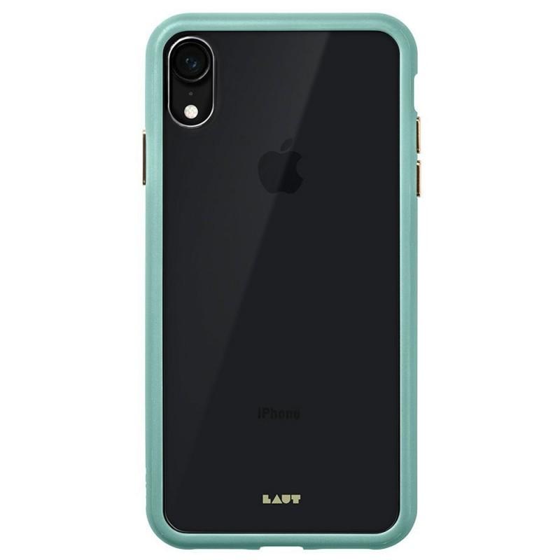 LAUT Accents iPhone XR Hoesje Mintgroen Transparant 03