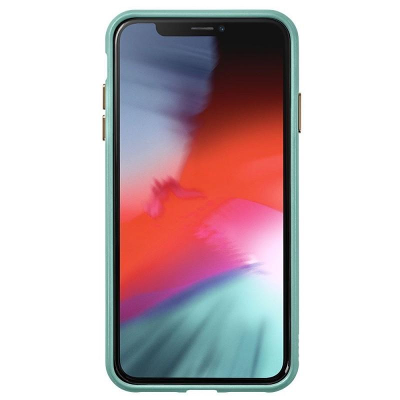 LAUT Accents iPhone XR Hoesje Mintgroen Transparant 02
